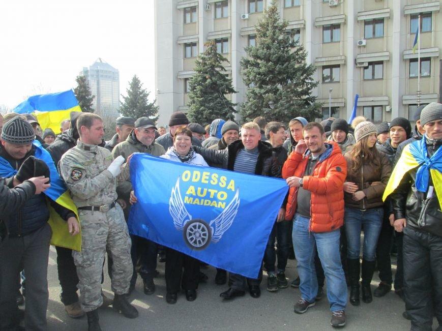 4d588cc84eac956bc01afe92c3d9d470 «Автомайдан» в Одессе без пожара добился нужного обещания