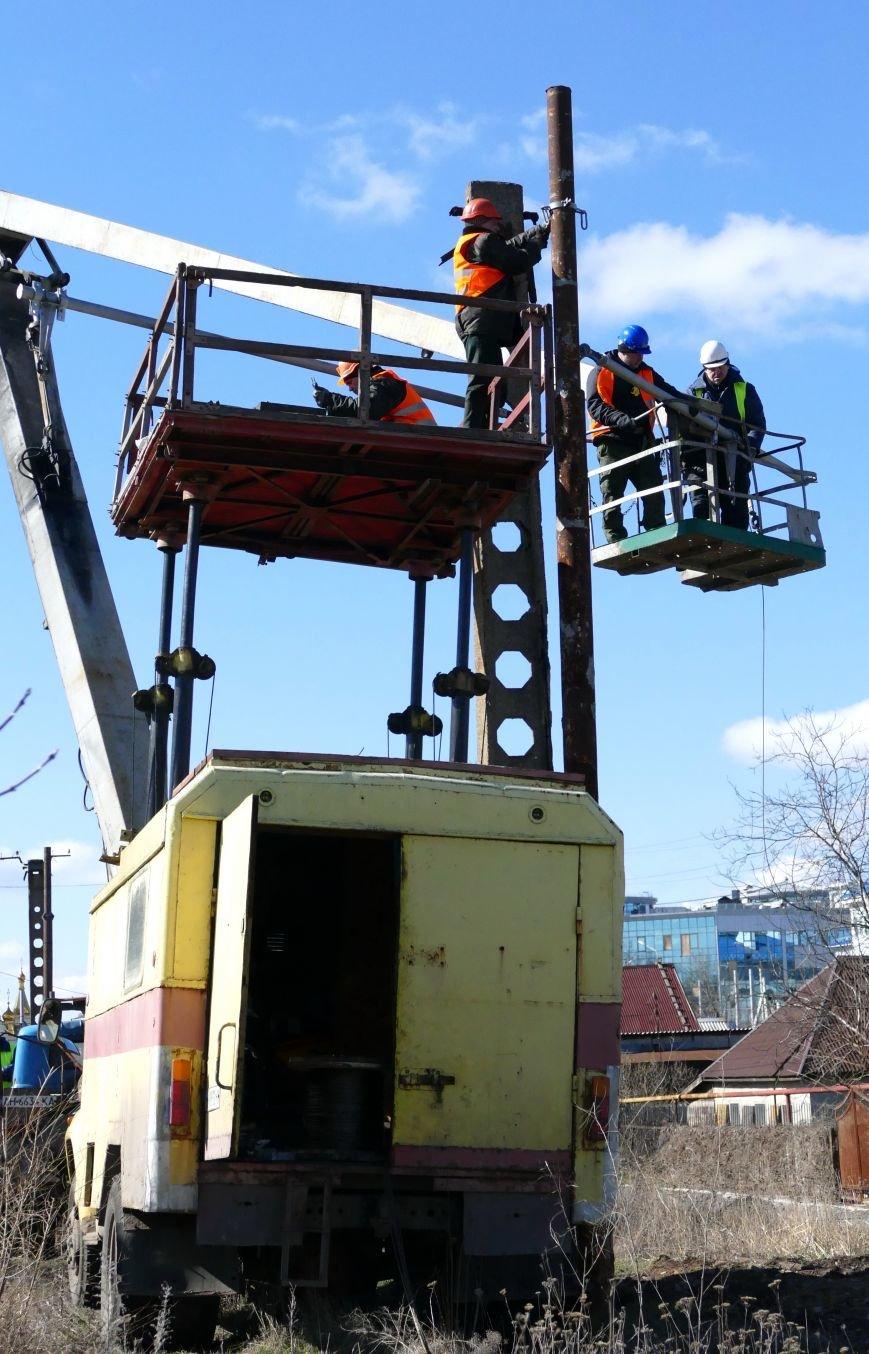 В Донецке к 1 мая обещают восстановить движение по маршруту трамвая № 1 (ФОТО) (фото) - фото 4