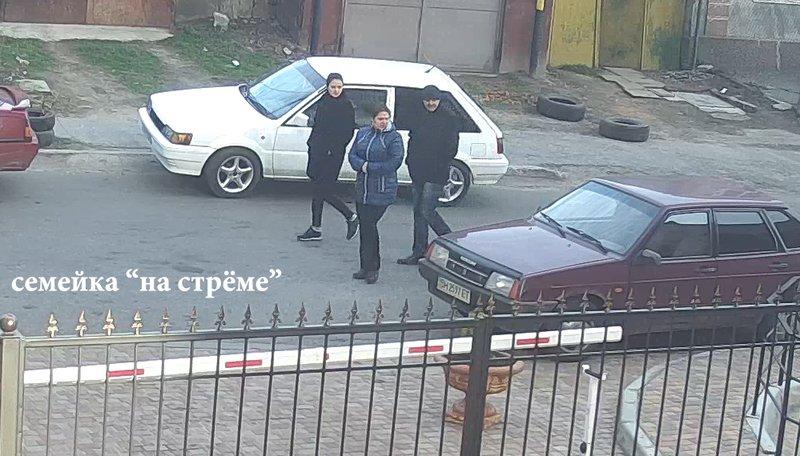 В Одессе запечатлели работу автоворов-грабберов (ФОТО, ВИДЕО) (фото) - фото 1