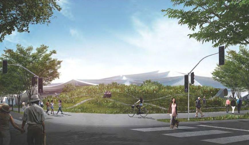 GOOGLE планує збудувати новий офіс (фото) - фото 1