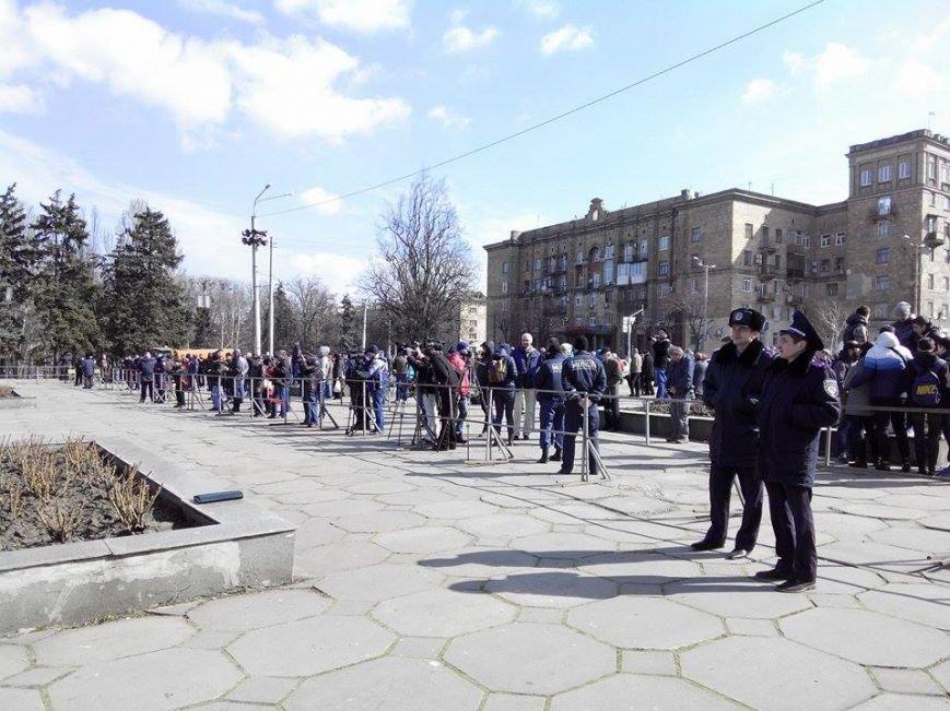 В Запорожье демонтируют самого большого Ленина в Украине: онлайн-трансляция (обновляется), фото-134