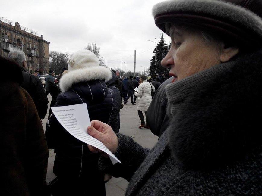 В Запорожье демонтируют самого большого Ленина в Украине: онлайн-трансляция (обновляется), фото-51