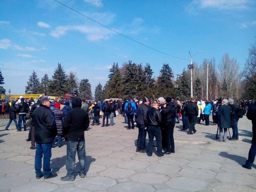 В Запорожье демонтируют самого большого Ленина в Украине: онлайн-трансляция (обновляется), фото-122