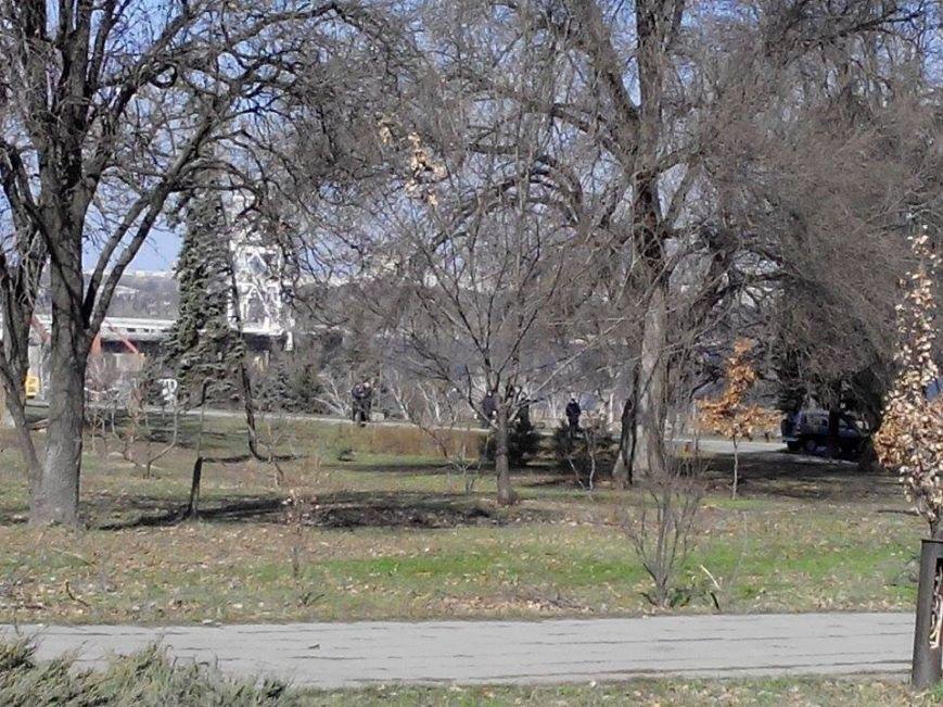 В Запорожье демонтируют самого большого Ленина в Украине: онлайн-трансляция (обновляется), фото-137