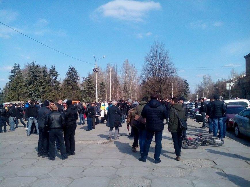 В Запорожье демонтируют самого большого Ленина в Украине: онлайн-трансляция (обновляется), фото-121