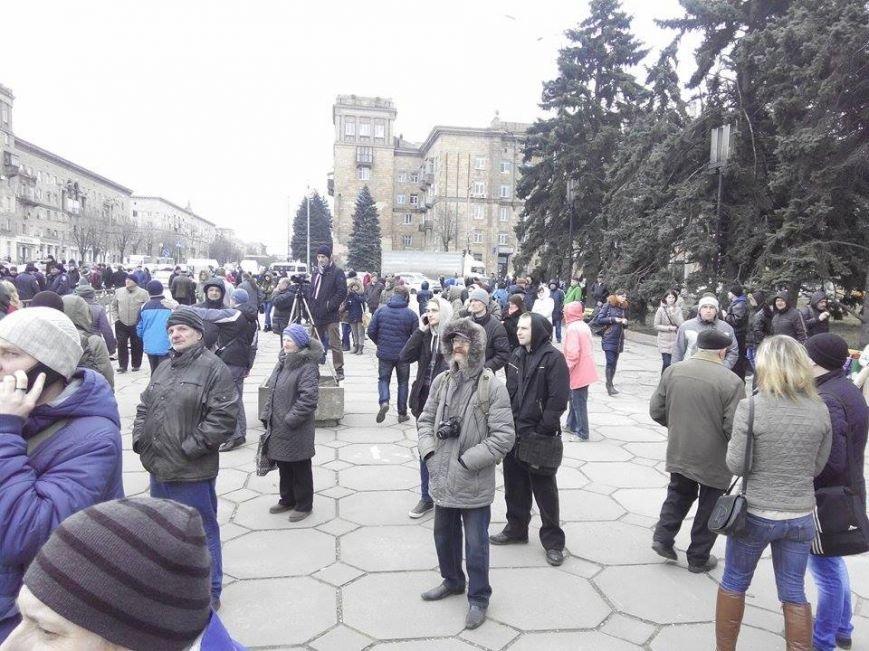 В Запорожье демонтируют самого большого Ленина в Украине: онлайн-трансляция (обновляется), фото-25