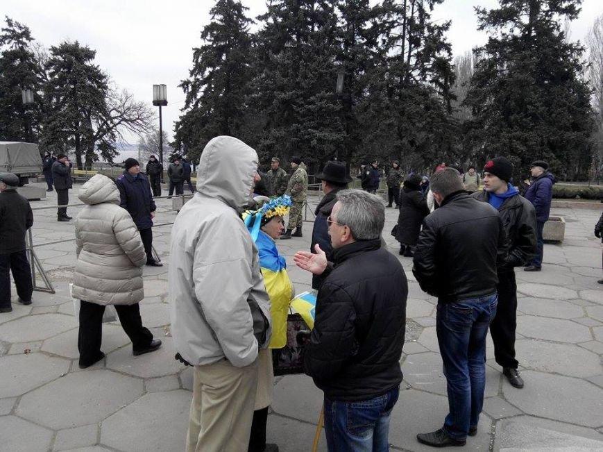 В Запорожье демонтируют самого большого Ленина в Украине: онлайн-трансляция (обновляется), фото-61