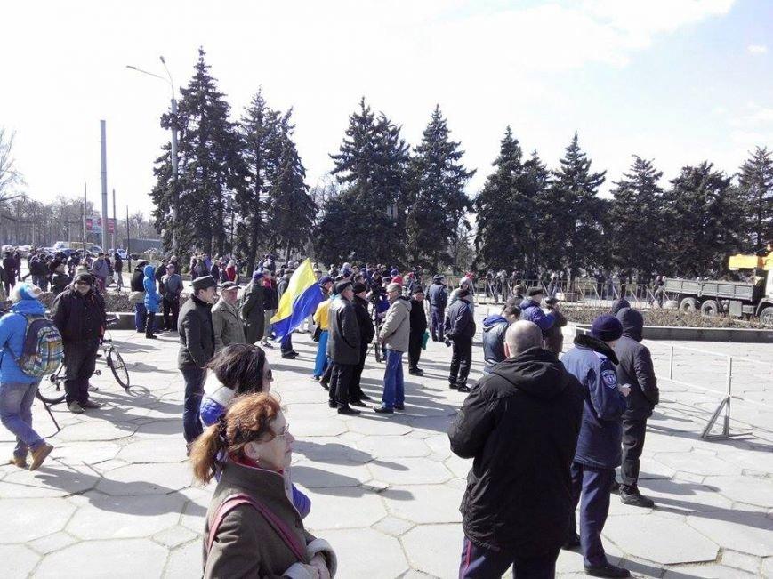 В Запорожье демонтируют самого большого Ленина в Украине: онлайн-трансляция (обновляется), фото-130