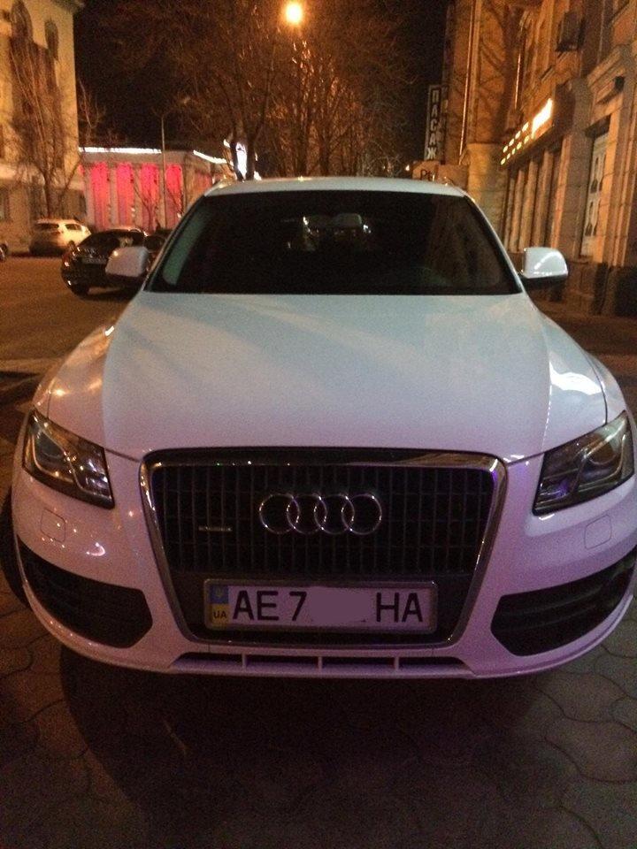 """""""Стоп хам"""": В Кривом Роге владелец """"Audi""""  поставил машину на тротуаре проспекта Карла Маркса и ушел (ФОТО), фото-2"""