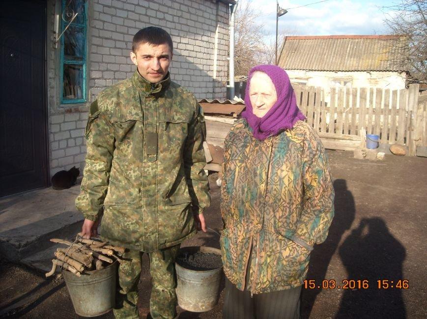 Полиция Доброполья помогает пожилым людям (фото) - фото 1