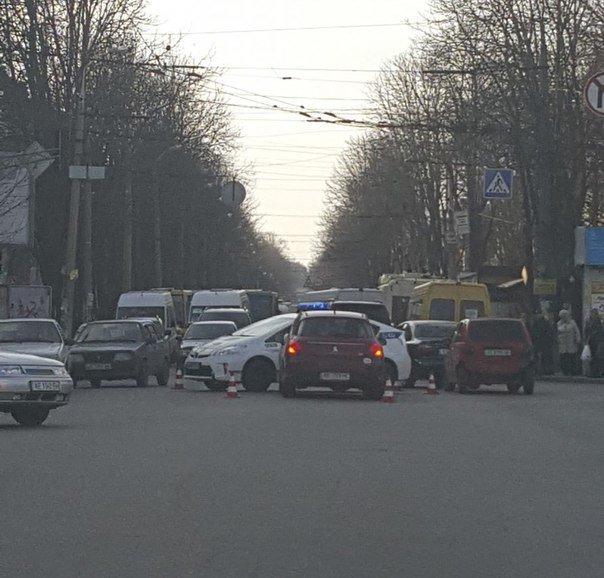 ДТП с участием полицейских (ФОТО) (фото) - фото 1