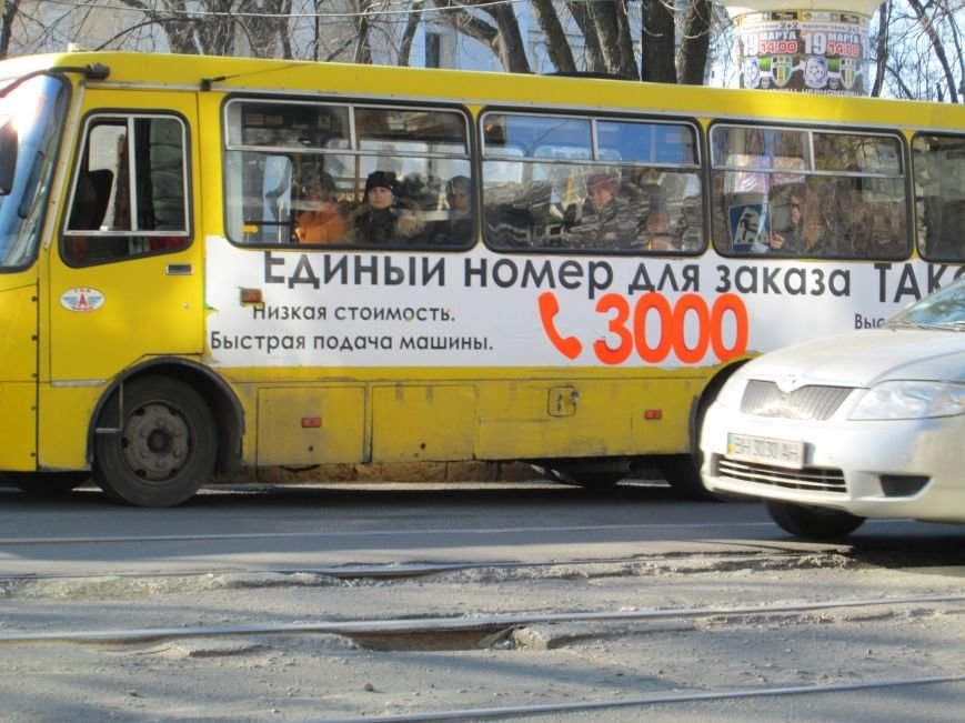 ce613a6d23ec2d81dd8d57fe789a073b На дорогах в центре Одессы водители убивают машины