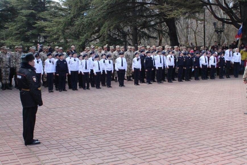 В Симферополе кадеты полка Народного ополчения приняли присягу (ФОТО) (фото) - фото 1
