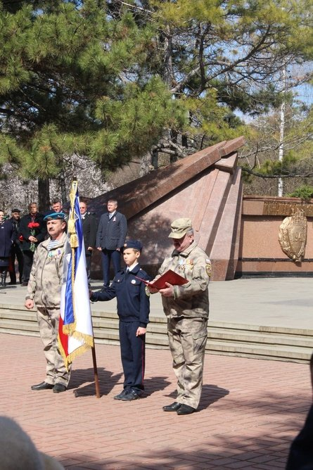 В Симферополе кадеты полка Народного ополчения приняли присягу (ФОТО) (фото) - фото 6