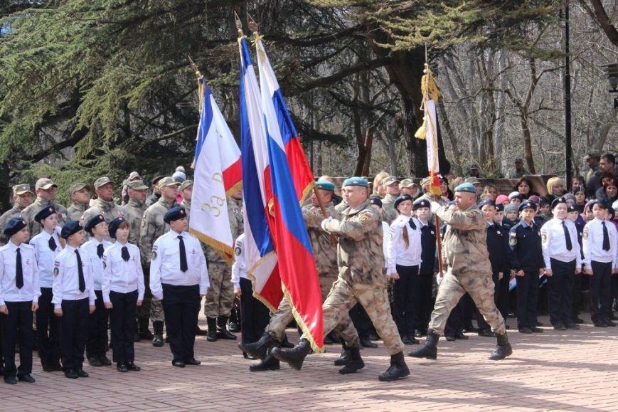 В Симферополе кадеты полка Народного ополчения приняли присягу (ФОТО) (фото) - фото 4