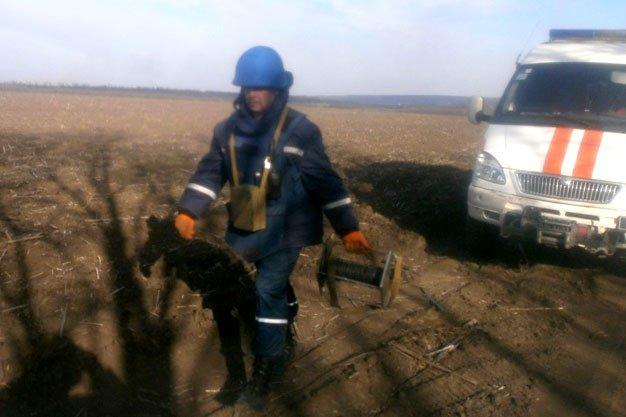 Под Днепропетровском найдена и обезврежена авиабомба (ФОТО) (фото) - фото 1