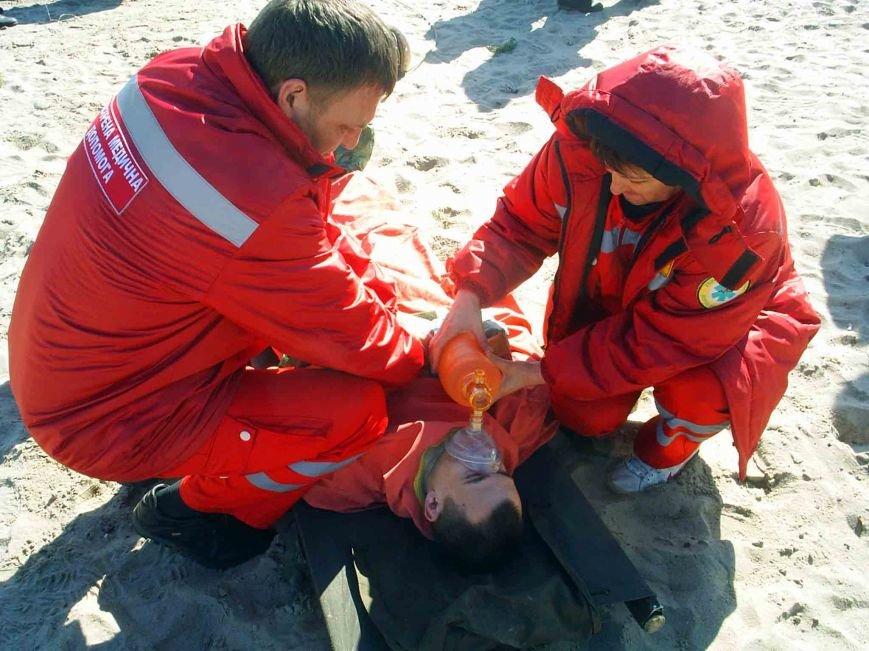 Северодонецкие спасатели совместно с медиками провели учения (ФОТО) (фото) - фото 1