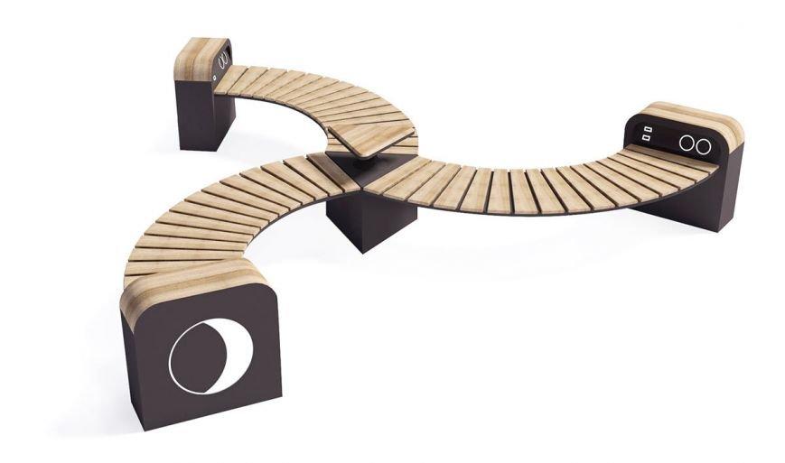 Одесса будущего: в городе могут появиться скамейки с USB и замысловатые