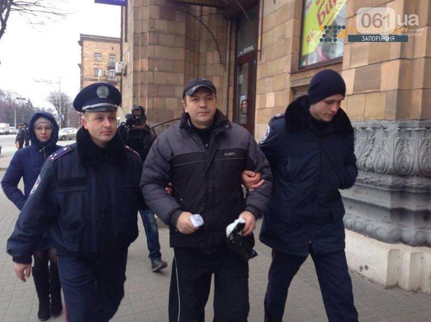 У Ленина полиция задержала экс-депутата Запорожского горсовета, - ФОТО (фото) - фото 1