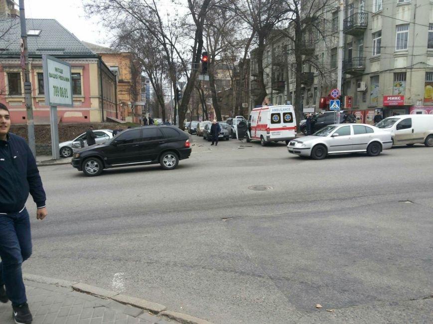 ДТП на улице Серова: в