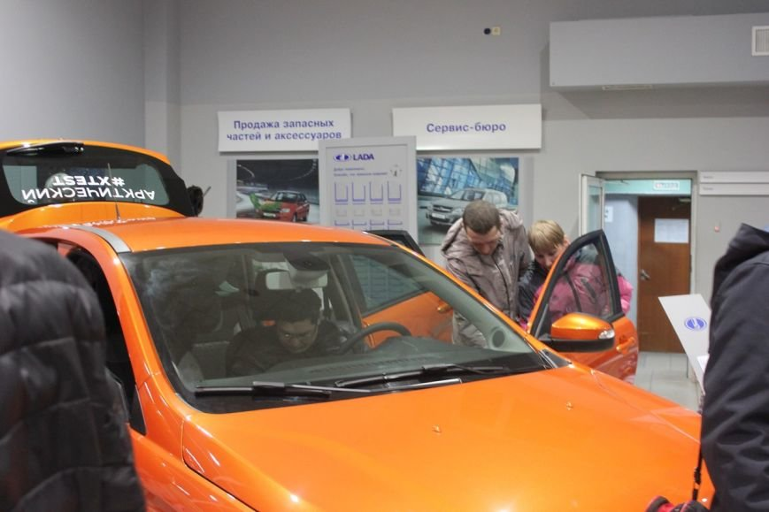В Сыктывкаре презентовали автомобиль LADA XRAY (фото) - фото 5