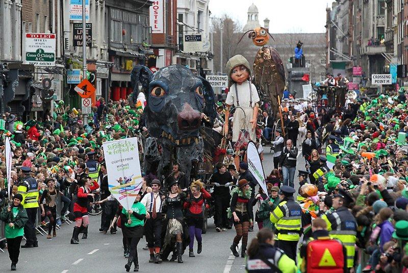 Kiss me, I'm irish: как в мире отмечают День святого Патрика (фото) - фото 5