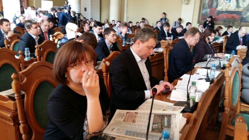 Як це було: сьогодні у Львові відбулася сесія міської ради (ФОТО), фото-1