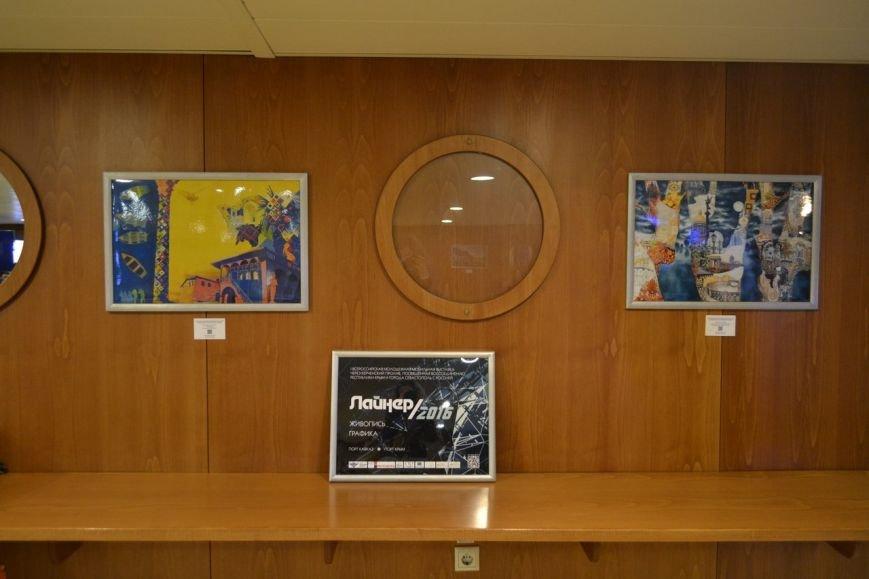 На Керченской переправе открылась художественная выставка: Картины разместили в паромах (ФОТО) (фото) - фото 3
