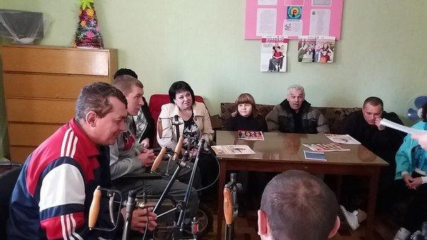 """В Белицком на базе Общественной организации инвалидов """"Джерело"""" состоялся круглый стол, фото-5"""