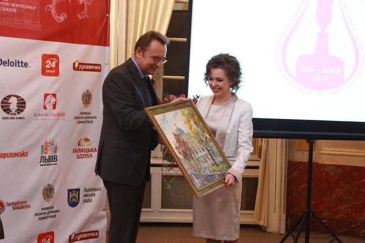 У Львові відбулось нагородження Чемпіонки світу з шахів: як це було (ФОТО), фото-6