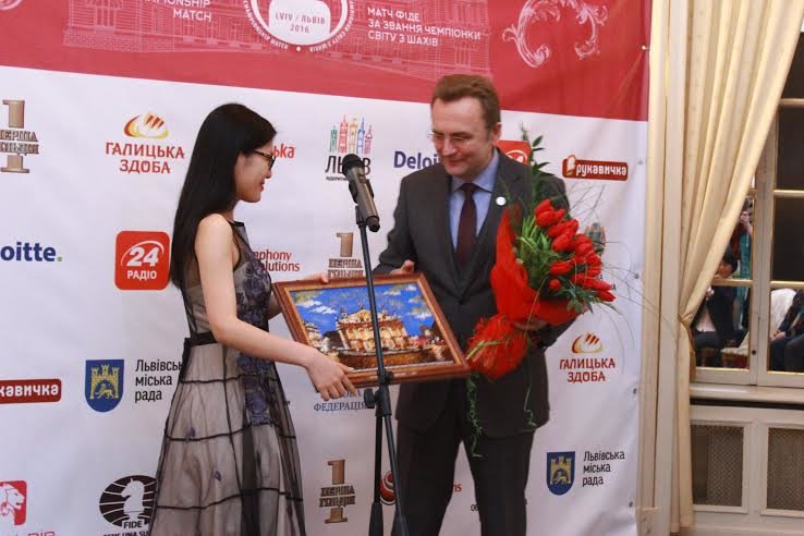 У Львові відбулось нагородження Чемпіонки світу з шахів: як це було (ФОТО), фото-1