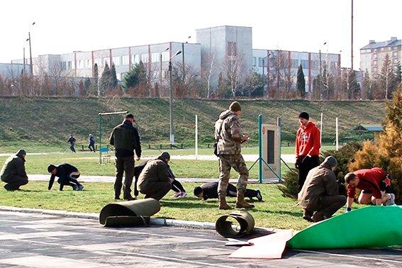 У Франківську відбирають кандидатів до спецпідрозділу поліції «Корд» (фото) - фото 3
