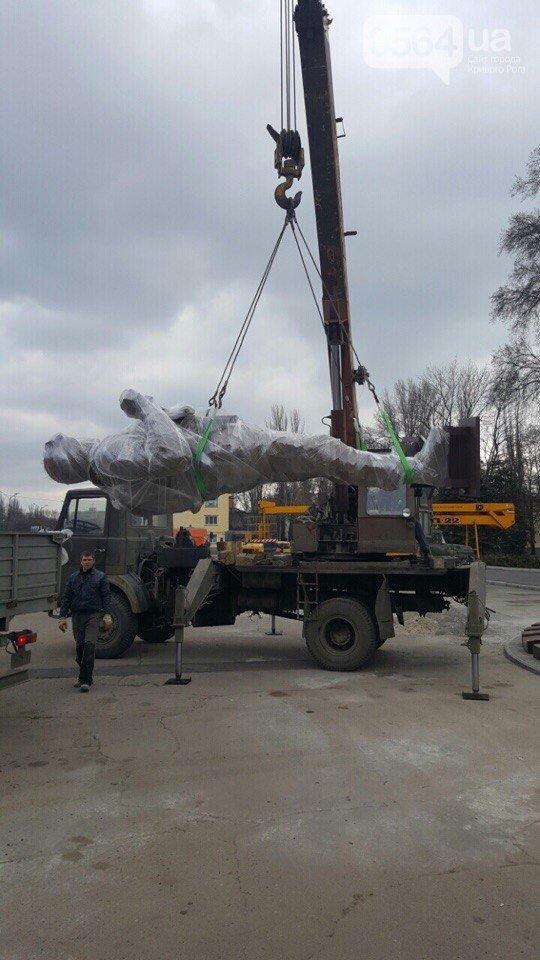 В Кривом Роге установлен монумент памяти погибшим в зоне АТО Героям (ФОТО) (фото) - фото 1