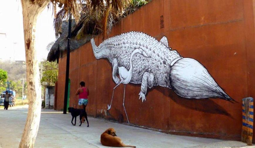 В Киеве испанский художник создаст новый мурал на 18-этажном доме (фото) - фото 1