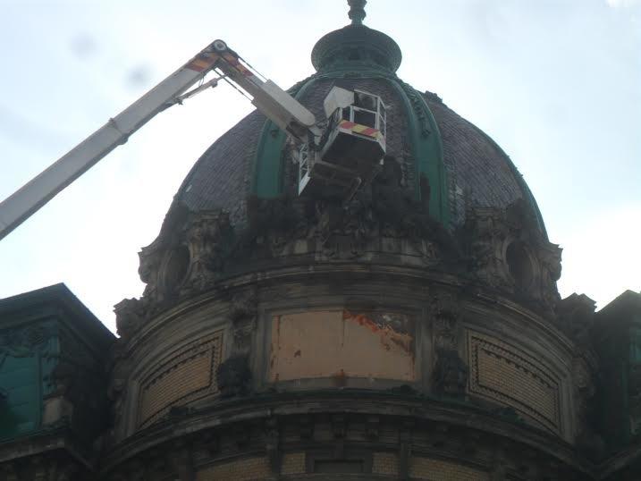 У центрі Львова відреставрують статую Свободи (ФОТО), фото-4