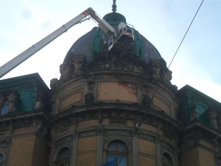 У центрі Львова відреставрують статую Свободи (ФОТО), фото-2