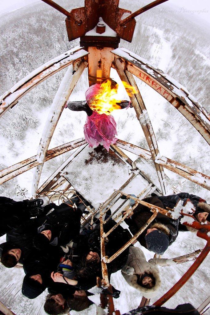 Тверские руферы сожгут чучело зимы на заброшенной вышке (фото) - фото 1
