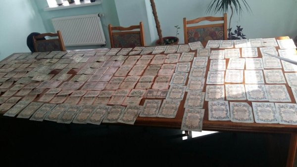 Жителя Рівненщини викрили на кордоні з сумкою банкнот, фото-1