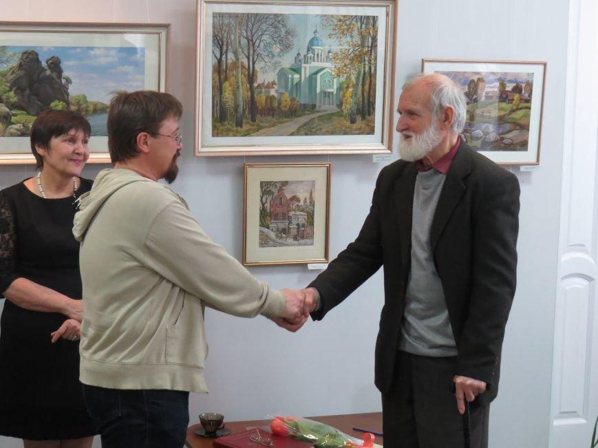 В Мариуполе состоялась выставка к юбилею Виктора Кофанова (ФОТО), фото-2