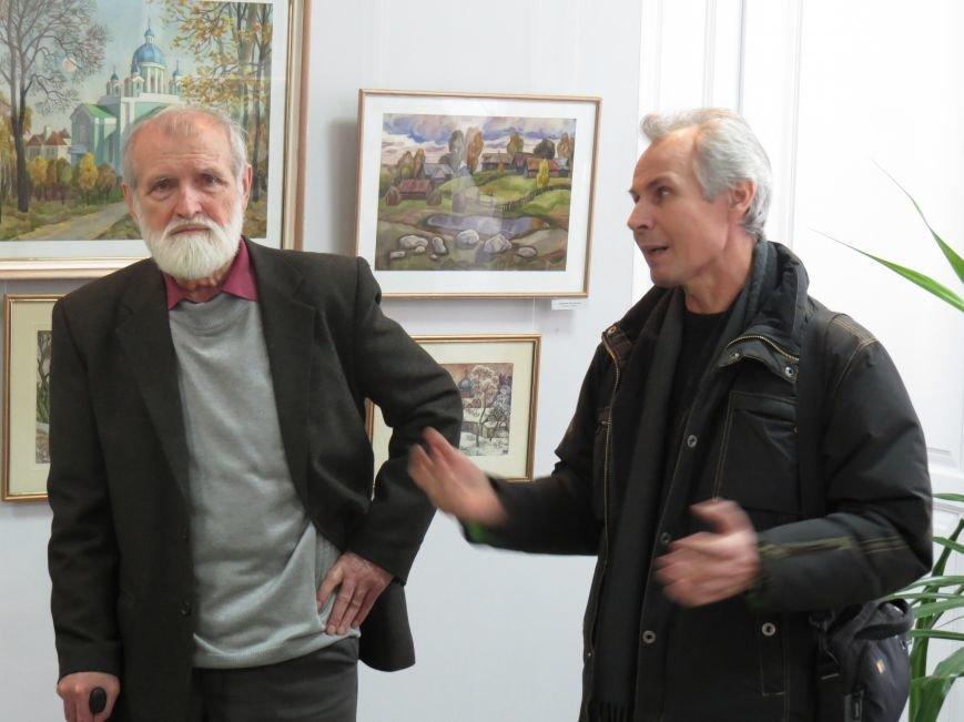 В Мариуполе состоялась выставка к юбилею Виктора Кофанова (ФОТО), фото-7
