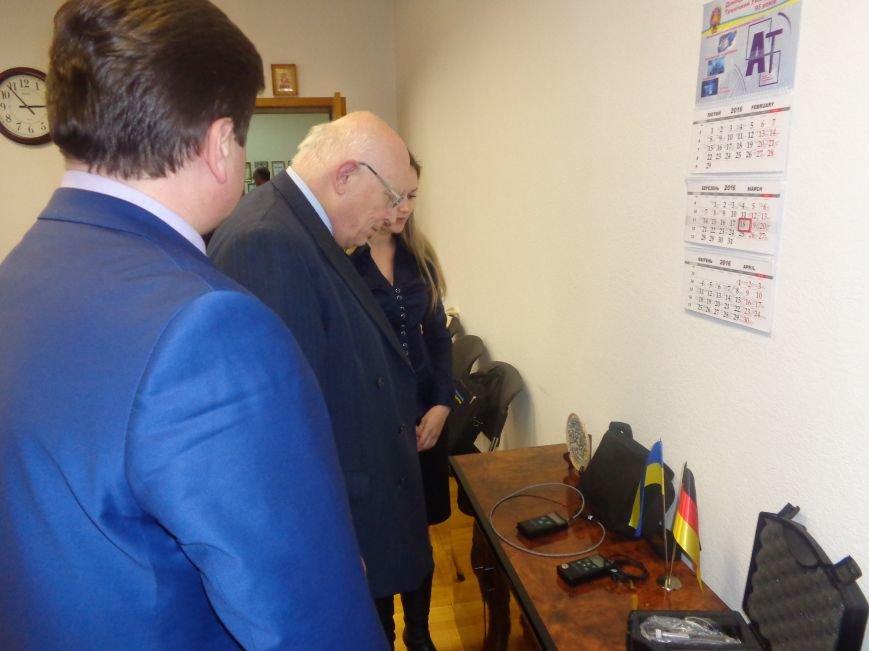 ДонНТУ Красноармейска посетил Генеральный консул Германии (фото) - фото 4