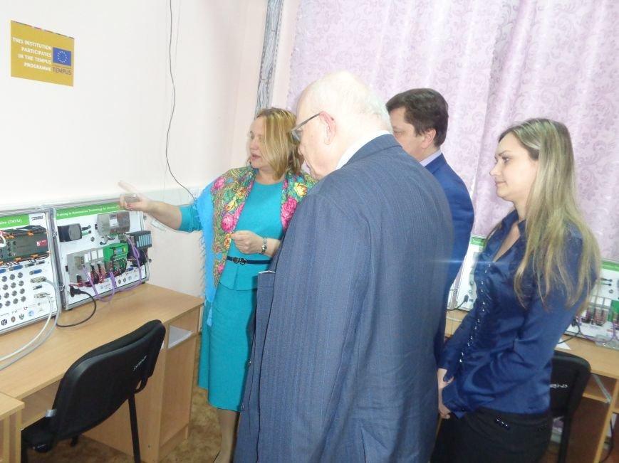 ДонНТУ Красноармейска посетил Генеральный консул Германии (фото) - фото 13