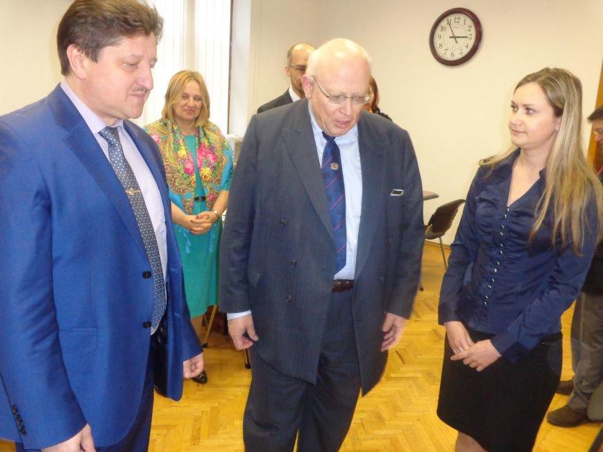ДонНТУ Красноармейска посетил Генеральный консул Германии (фото) - фото 6