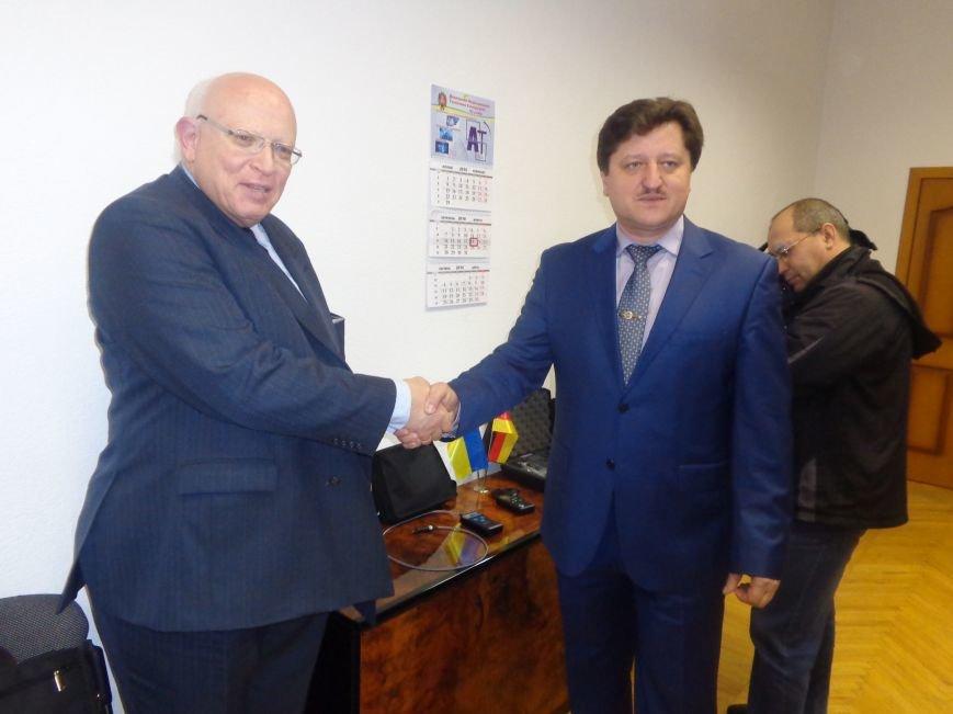 ДонНТУ Красноармейска посетил Генеральный консул Германии (фото) - фото 9