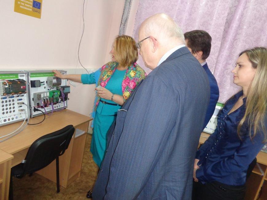 ДонНТУ Красноармейска посетил Генеральный консул Германии (фото) - фото 14