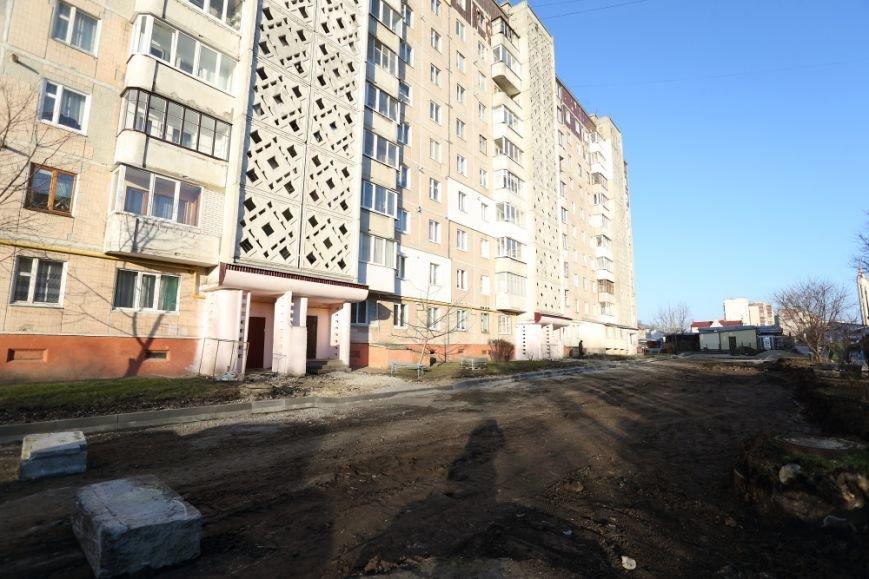 Міський голова Тернополя Сергій Надал оглянув стан проведення ремонтів на бульварі Куліша, 4, фото-1