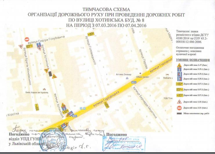 На вулиці Хотинській на тиждень перекриють рух транспорту (СХЕМА ОБ'ЇЗДУ), фото-1