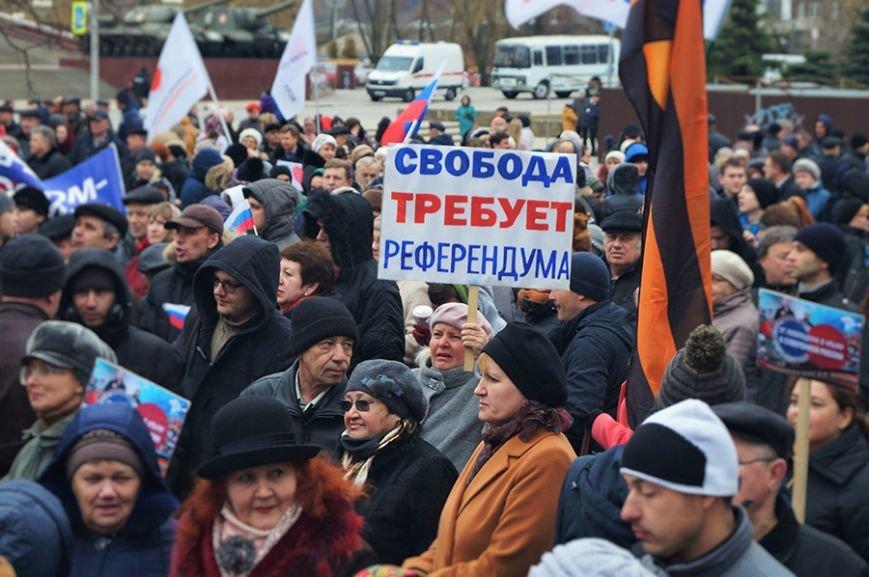 «Украинцы чуточку обиделись». Что говорили белгородцы на митинге в честь присоединения Крыма (фото) - фото 3