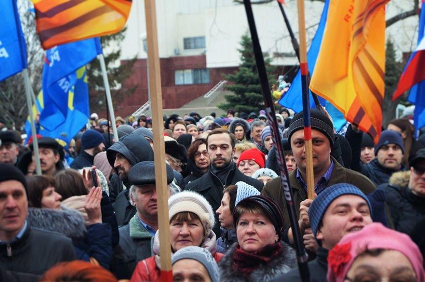 «Украинцы чуточку обиделись». Что говорили белгородцы на митинге в честь присоединения Крыма (фото) - фото 1