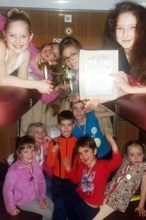 Юные херсонские фигуристы блестяще выступили на соревнованиях в Харькове (фото), фото-2